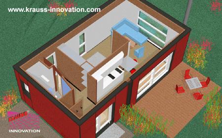 Ferien Modulhaus - die kleinste Einheit mit maximalen Komfort ...
