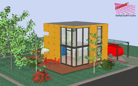 Endlich gibt es das minihaus sparsam im verbrauch for Minihaus bauen