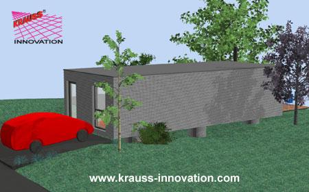 das modulhaus aus massivholz die haus innovation von krauss krauss innovation ltd canada. Black Bedroom Furniture Sets. Home Design Ideas