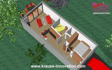 Das modulhaus aus massivholz die haus innovation von for Mini wohnhaus
