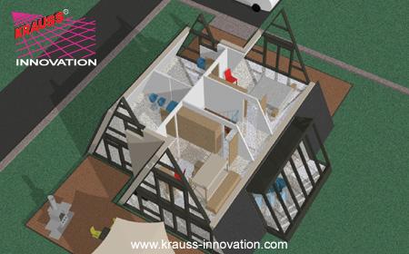 Das waldhaus von krauss krauss gmbh d 88285 bodnegg for Nurdachhaus bauen