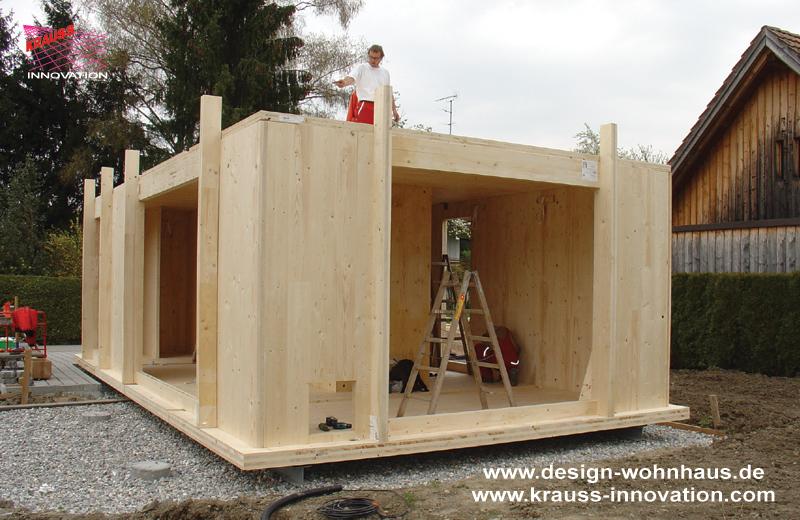 Das design ferienhaus von krauss gmbh ahornstr 26 in for Mini wohnhaus